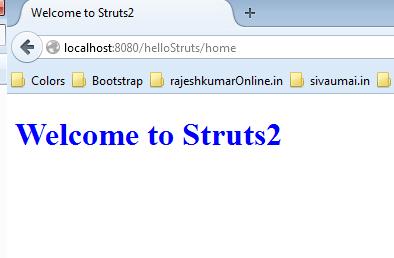 struts2-home